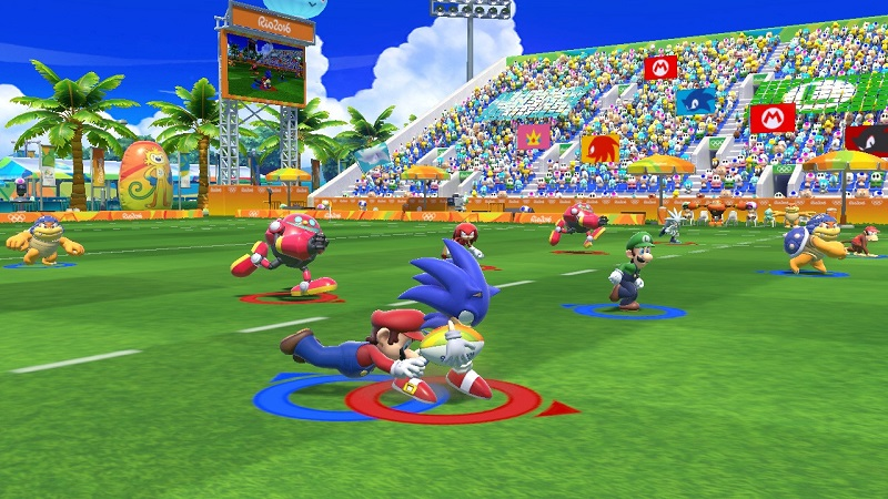 Sports Mario and Sonic