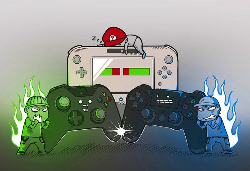 Consoles in history